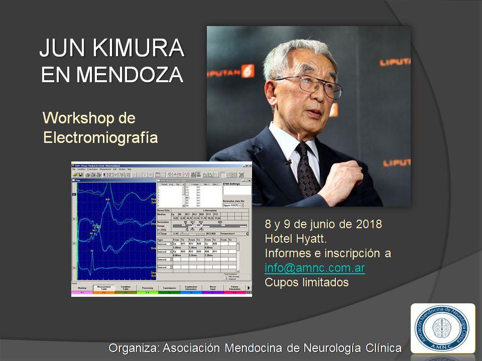 CUPOS AGOTADOS: Workshop en Electromiografía –  8 y 9 de Junio – Hotel Hyatt