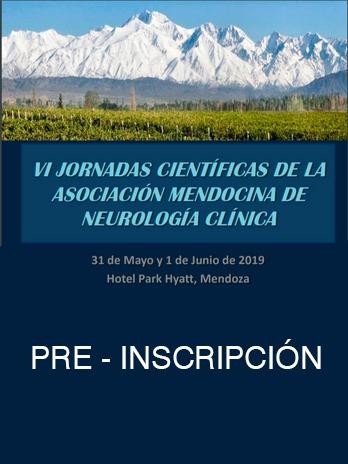 Formulario de pre inscripción VI Jornadas científicas de la AMNC