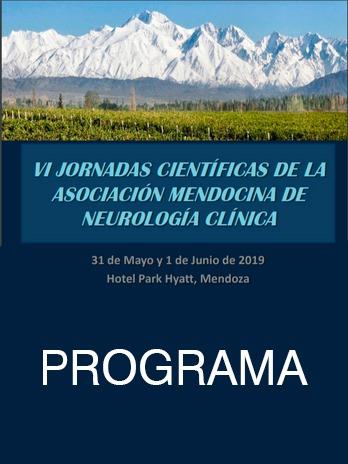 Programa Preliminar de VI Jornada Científica de la Asociación Mendocina de Neurología Clínica